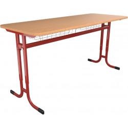 SKLADEM školní lavice YGNÁC - vel. 3 - 5, červená