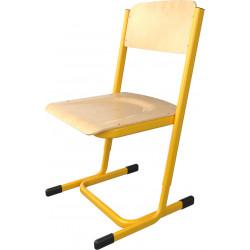 SKLADEM školní židle YGNÁC - vel. 3 - 5, žlutá