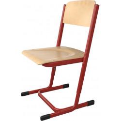 SKLADEM školní židle YGNÁC - vel. 3 - 5, červená