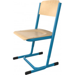 SKLADEM školní židle YGNÁC - vel. 5 - 7, modrá