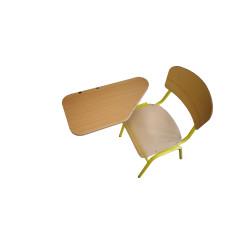 Židle YGNÁC- se stolečkem