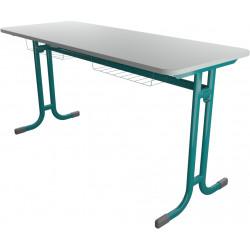 Školní lavice YGNÁC dvoumístná, pevná výška
