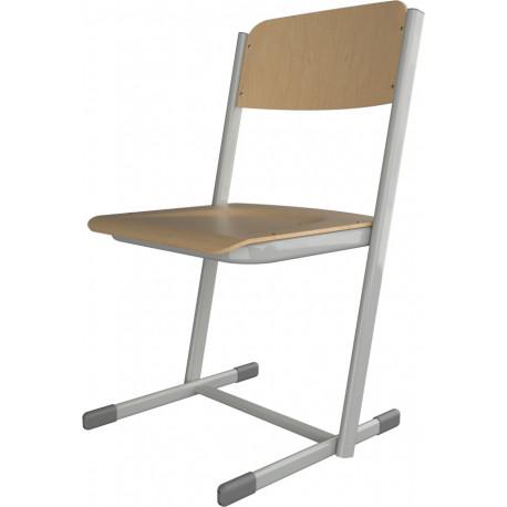 Školní židle HUBERT, pevná výška