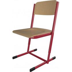 Školní židle HUBERT, výškově stavitelná
