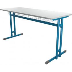 Školní lavice HUBERT dvoumístná, pevná výška