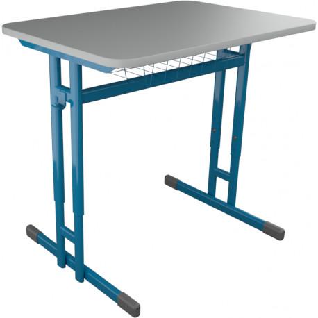 Školní lavice HUBERT jednomístná, výškově stavitelná