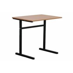 Montovaná lavice ČENĚK jednomístná, pevná