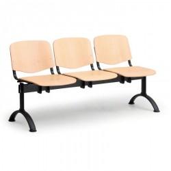 Dřevěná lavice ESO, 3x sedák