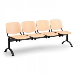 Dřevěná lavice ESO, 4x sedák