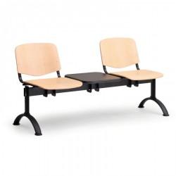 Dřevěná lavice ESO, 2x sedák + stolek