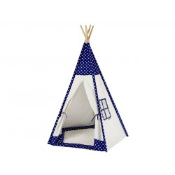 Dětské indiánské týpí VINNETOU, modrá