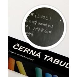Nalepovací tabule, 150 x 45 cm, černá