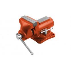 Svěrák otočný s kovadlinou, 100 mm, 6,4 kg