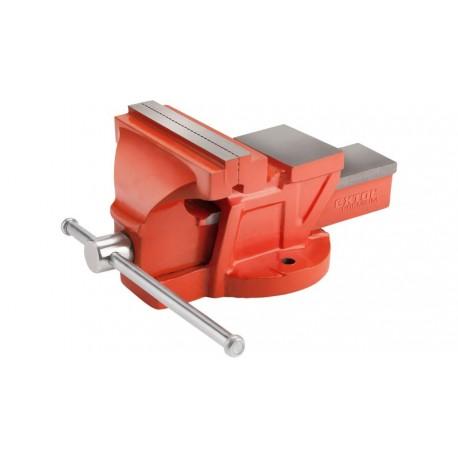 Svěrák otočný s kovadlinou, 150 mm, 10 kg