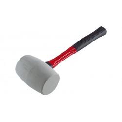 Pryžová palice, 45 mm, bílá