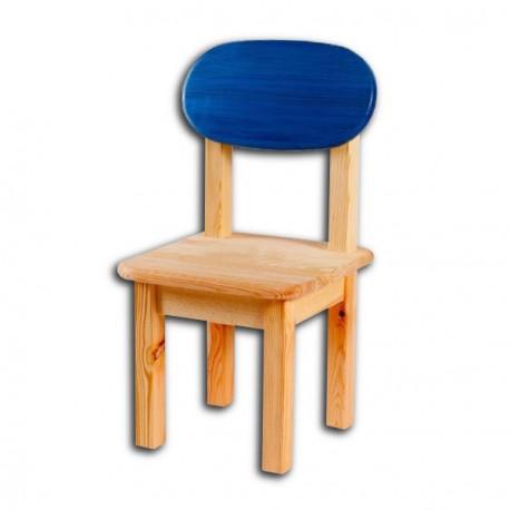 Dětská židlička SÁRA, modrý opěrák