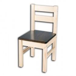 Dětská židlička TARA, hnědý sedák