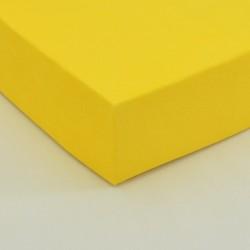 Dětské froté prostěradlo, žluté
