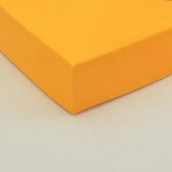 Dětské froté prostěradlo, oranžové