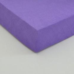 Dětské froté prostěradlo, fialové