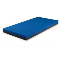 120 x 60 cm - Dětská látková-koženková matrace