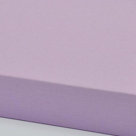Dětské plátěné prostěradlo, fialové