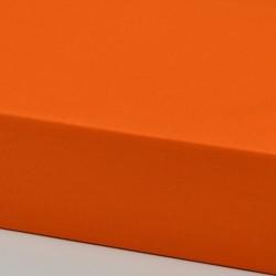 Dětské plátěné prostěradlo, oranžové