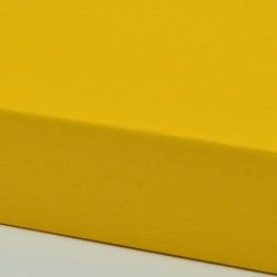 Dětské plátěné prostěradlo, žluté