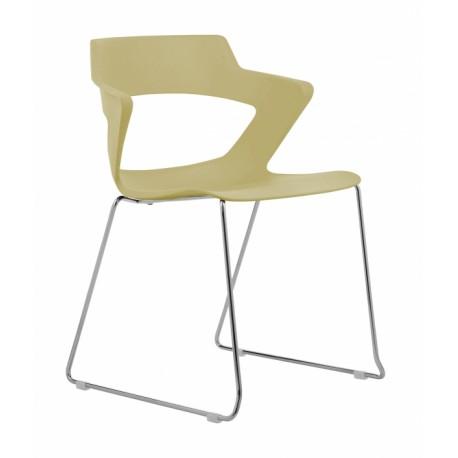 Jídelní židle GLORIA, ohýbaná konstrukce