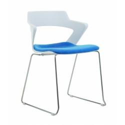Jídelní židle GLORIA, čalouněný sedák