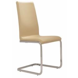 Jídelní židle ALEXIS, ližinová konstrukce, celočalouněná