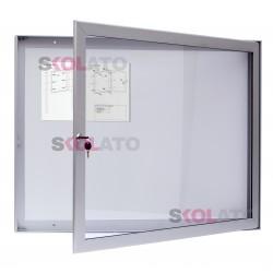 Jednokřídlá vitrína, hloubka 40 mm