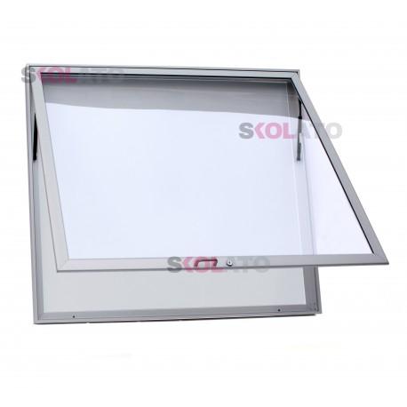 Jednokřídlá vitrína, hloubka 60 mm