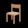 Dětská židlička LARA, přírodní