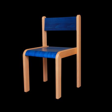 Dětská židlička LARA, barevný sedák a opěrák