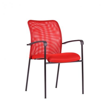 Jednací židle RITA, černá konstrukce