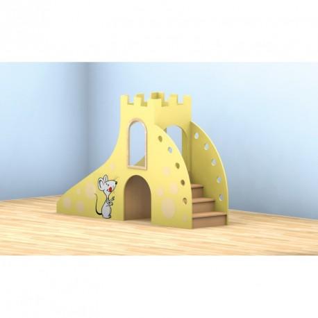 Hrací pódia pro MŠ - Myší hrad