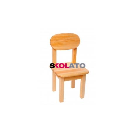 Dětská židlička SÁRA, přírodní