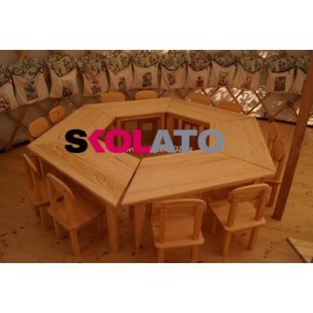 Lichoběžníkový stůl MATYÁŠ
