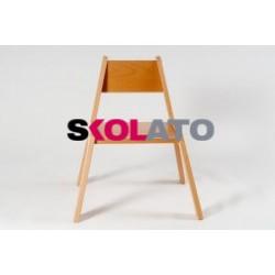 Židlička KLÁRA, stohovatelná