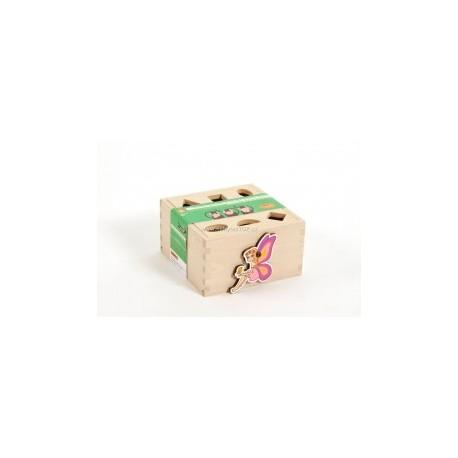 Vkládací krabička s tvary