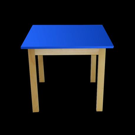Dětský stoleček MATEO, čtverec, přírodní