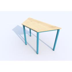 Stůl SIMONA, lichoběžník, přírodní