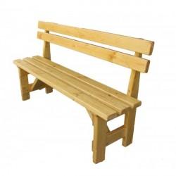 Dřevěná lavička Petra