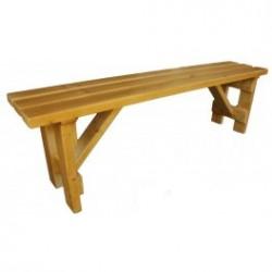 Dřevěná lavička Mirka