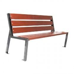 Kovová lavička Bright