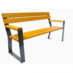 Kovová lavička Calandra