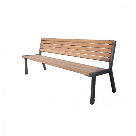 Kovová lavička Dagny