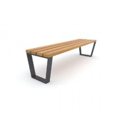 Kovová lavička Evan I