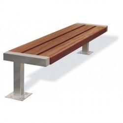 Kovová lavička Echo I